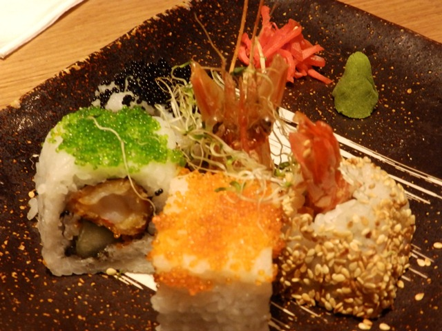 Rainbow Ebi Roll