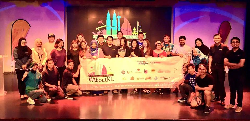 Opening #AboutKL with 22 Social Media Influencers, Tourisme Malaysia KL, Gaya Travel at MATIC Pict: Tourisme Malaysia KL