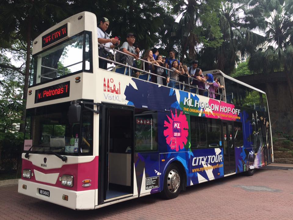 KL Hop on Hop off Double Decker Bus Pict: Tourisme Malaysia KL