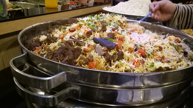 Biryani Gam with Lamb Shank